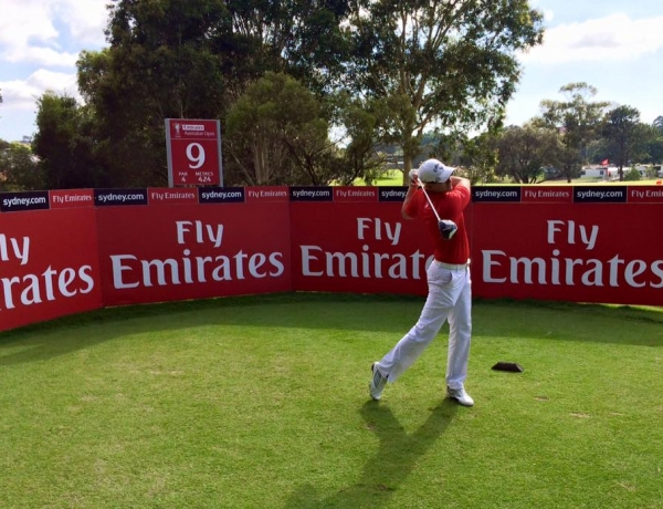 LuxGolf invited to play The Australian Golf Club after the Final Round of the Open!