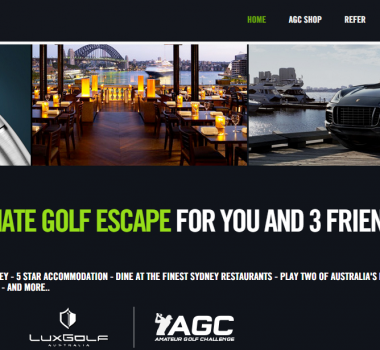 Amateur Golf Challenge and LuxGolf