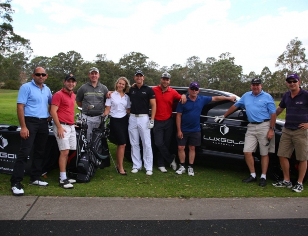 "LuxGolf, Proud sponsor of fantastic children's charity ""Day of Difference"""
