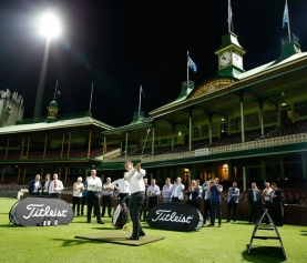 LuxGolf a special guest of Golf Digest Australia, 2015 'PGA Player of the Year Awards'
